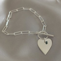 Bracelet Charme Diamant -...