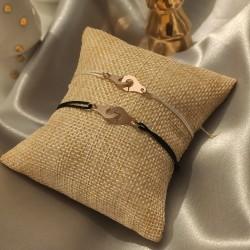 Bracelet Menottes - Cordon...
